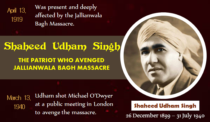Biographical Sketch of Shaheed Udham Singh